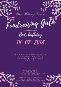 Our Missing Peace Fundraising Gala
