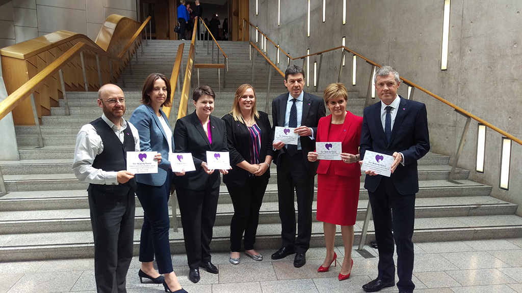 A visit to Scottish Parliament