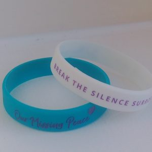 Our Missing Peace Wristbands